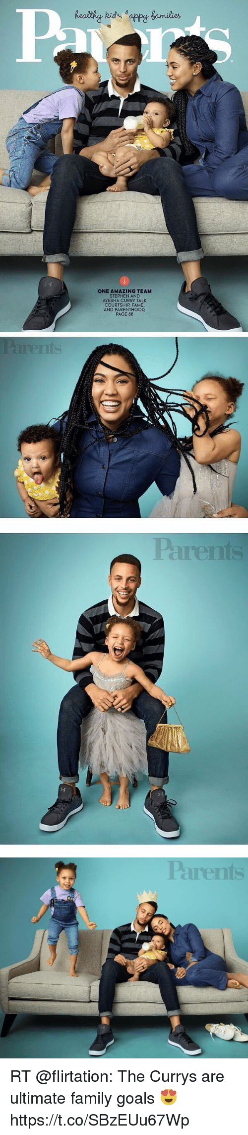 ONE AMAZING TEAM STEPHEN AND AYESHA CURRY TALK COURTSHIP FAME AND ...