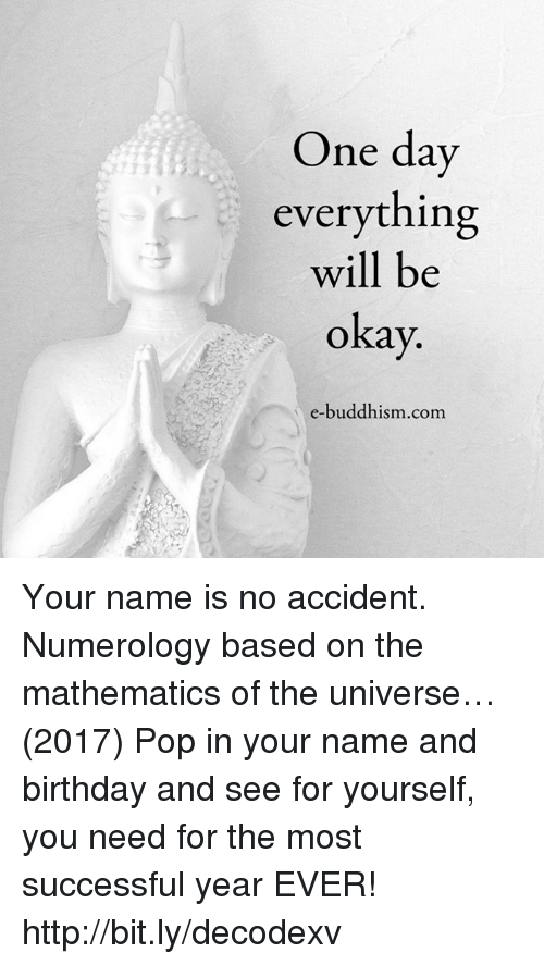 One Day Everything Will Be Okay 13 E-Buddhismcom Your Name
