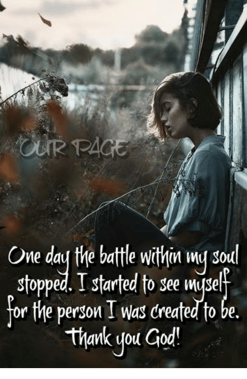 The Battle for my Soul
