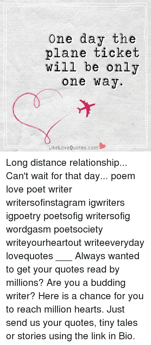 poems about love and distance
