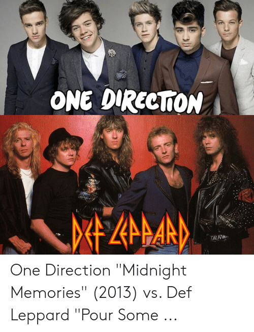 ONE DIRECTİON One Direction Midnight Memories 2013 vs Def