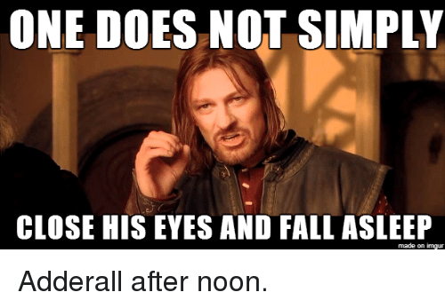 one does not simply close his eyes and fall asleep 2688415 ✅ 25 best memes about one does not simply meme generator one
