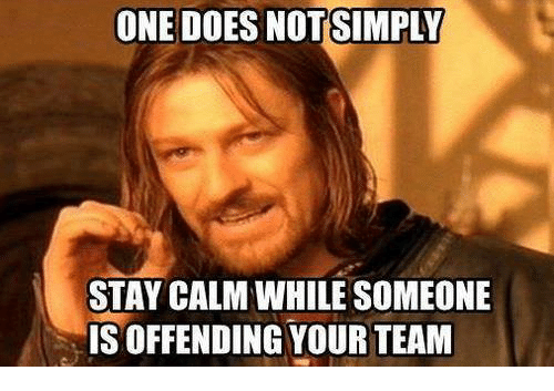 one does not simply stay calm while someone is offending 693802 ✅ 25 best memes about one does not simply meme generator one