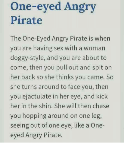 sex pirate style