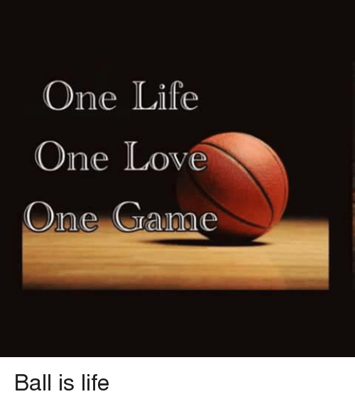 one game one love