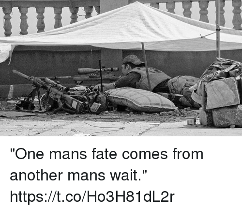 """Memes, Fate, and 🤖: """"One mans fate comes from another mans wait."""" https://t.co/Ho3H81dL2r"""