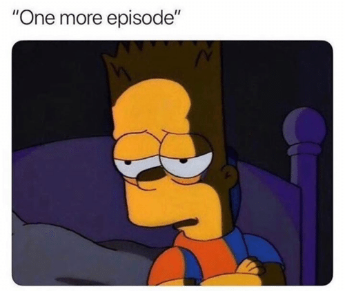 "One, More, and  Episode: ""One more episode"""