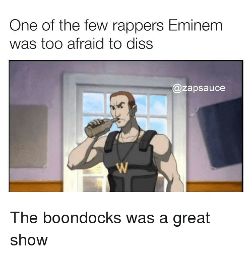 Diss, Eminem, and Reddit: One of the few rappers Eminem  was too afraid to diss  @zapsauce