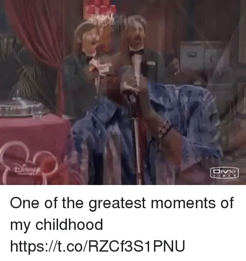 Funny, One, and Greatest: One of the greatest moments of my childhood https://t.co/RZCf3S1PNU