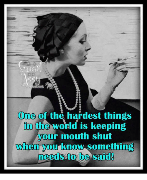 The Hardest Thing In The World