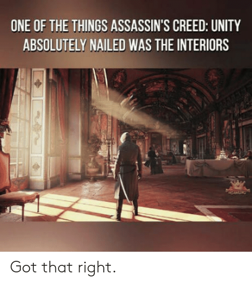 One Of The Things Assassin S Creed Unity Absolutely Nailed Was The