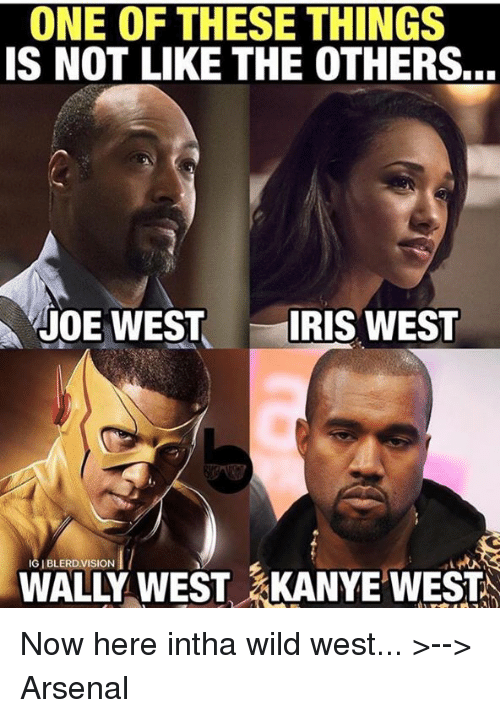 one of these things is not like the others joe 7448394 one of these things is not like the others joe west iris west