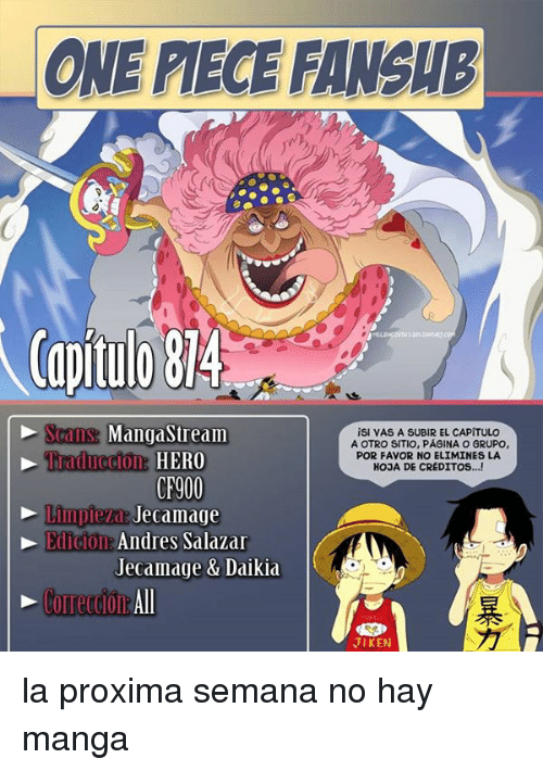 manga stream one piece