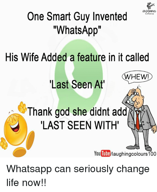One Smart Guy Invented What App His Wife Added a Feature in