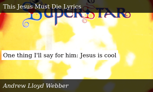 One Thing I'll Say for Him Jesus Is Cool | Meme on ME ME