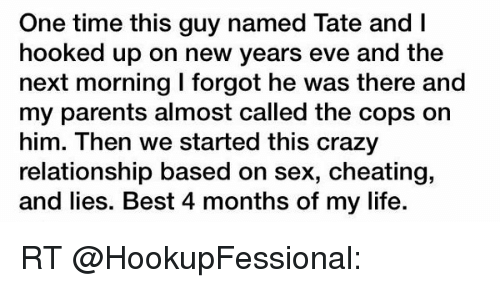 hook up new years eve