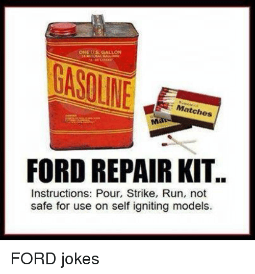 ONE US GALLON Matches FORD REPAIR KIT Instructions Pour
