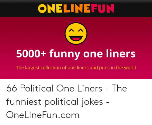 ONELINEFUN 5000+ Funny One Liners the Largest Collection of