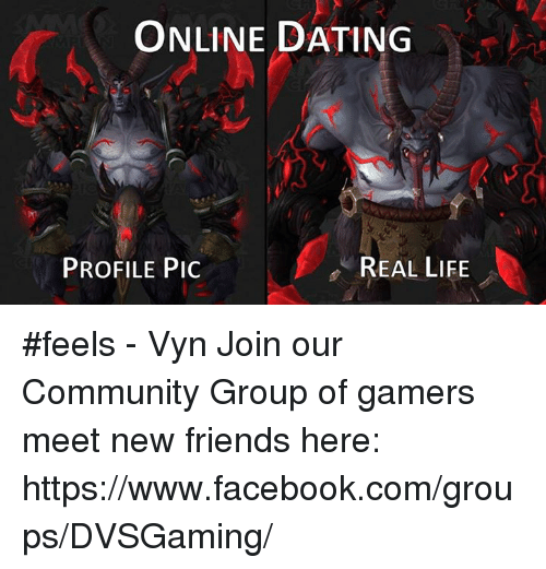 Online dating meeting in real life