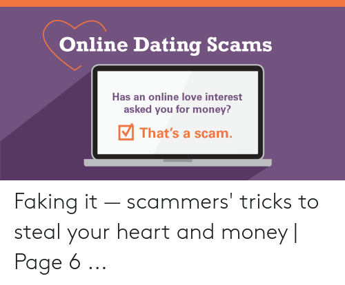 scammers online dating