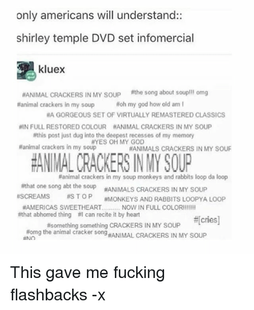 Only Americans Will Understand Shirley Temple Dvd Set Infomercial