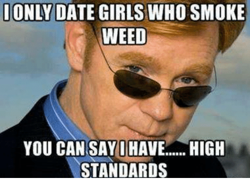 Dating a man who smokes weed