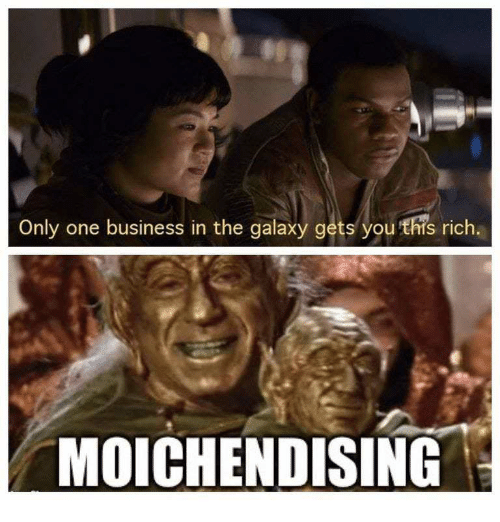 Only One Business In The Galaxy Gets You This Rich