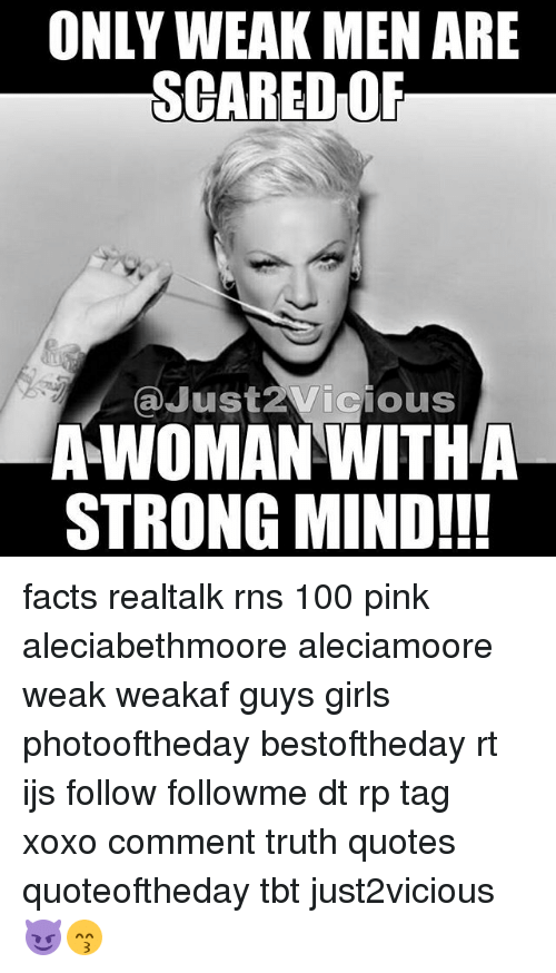 Women are just as strong as men