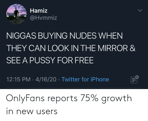 New, Growth, and Users: OnlyFans reports 75% growth in new users