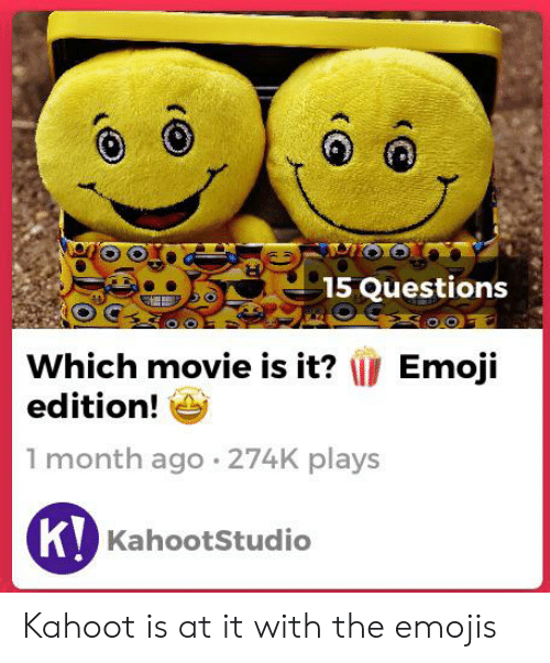 OO 15 Questions Which Movie Is It? Edition! 1 Month Ago 274K Plays K