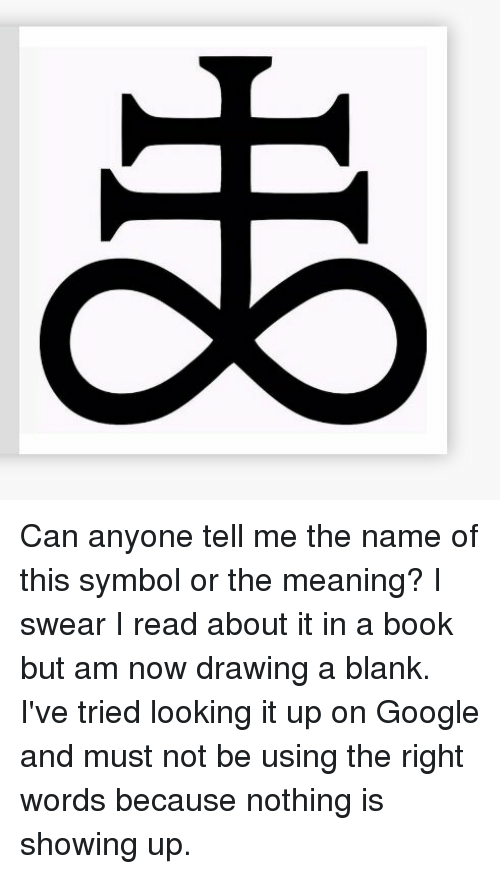 Oo Can Anyone Tell Me The Name Of This Symbol Or The Meaning I