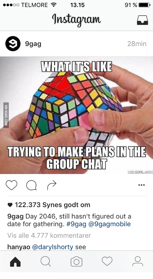 Dating group chat