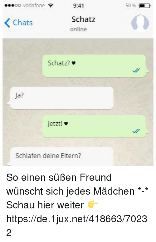 Mädchen chat Zoom Meetings