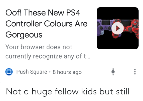 Oof! These New PS4 Controller Colours Are Gorgeous Your