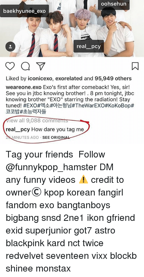 Oohsehun RE Baekhyunee_exo Real_pcy Liked by Iconicexo