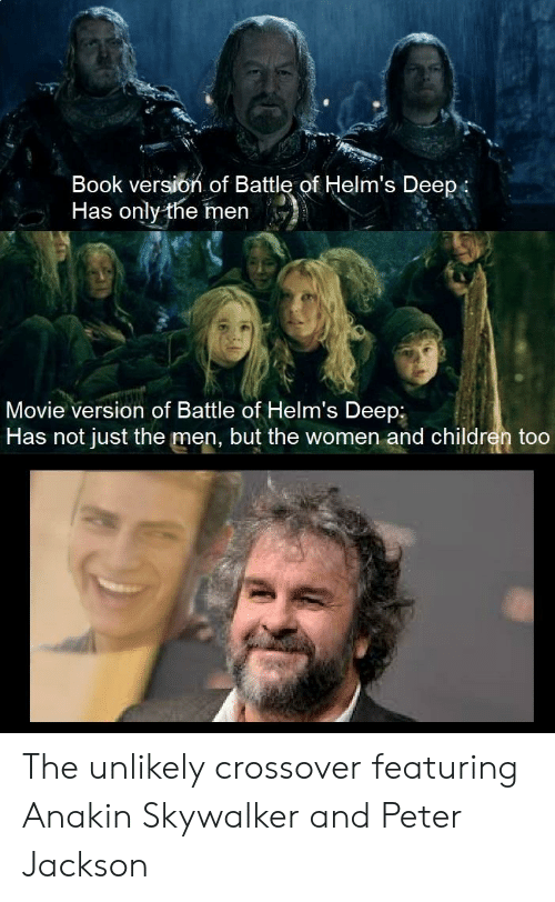 Ook Version of Battle of Helm's Deep Has Only the Men Movie