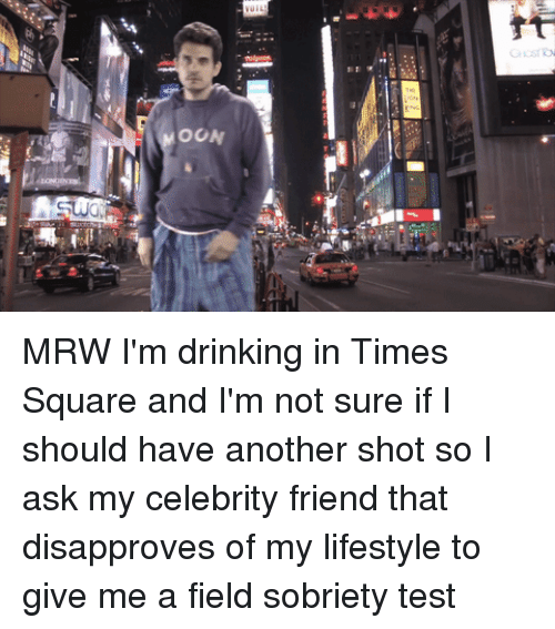 Drinking, Mrw, and Lifestyle: OON