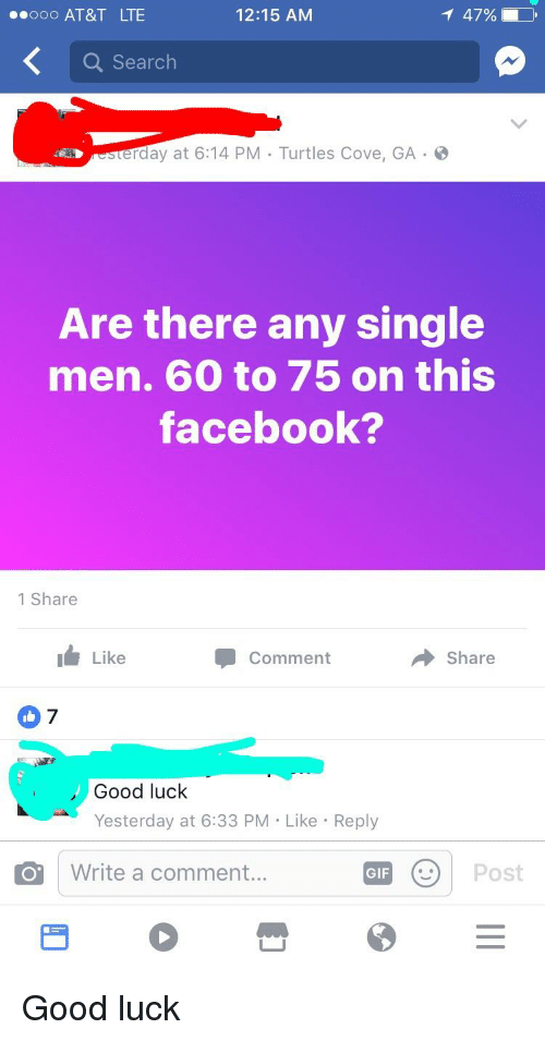 how to search for single men on facebook