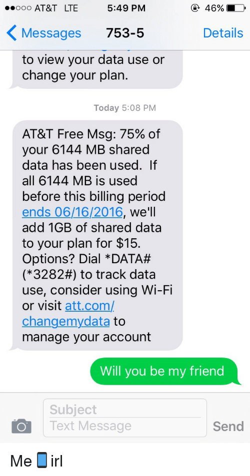 at&t track text messages