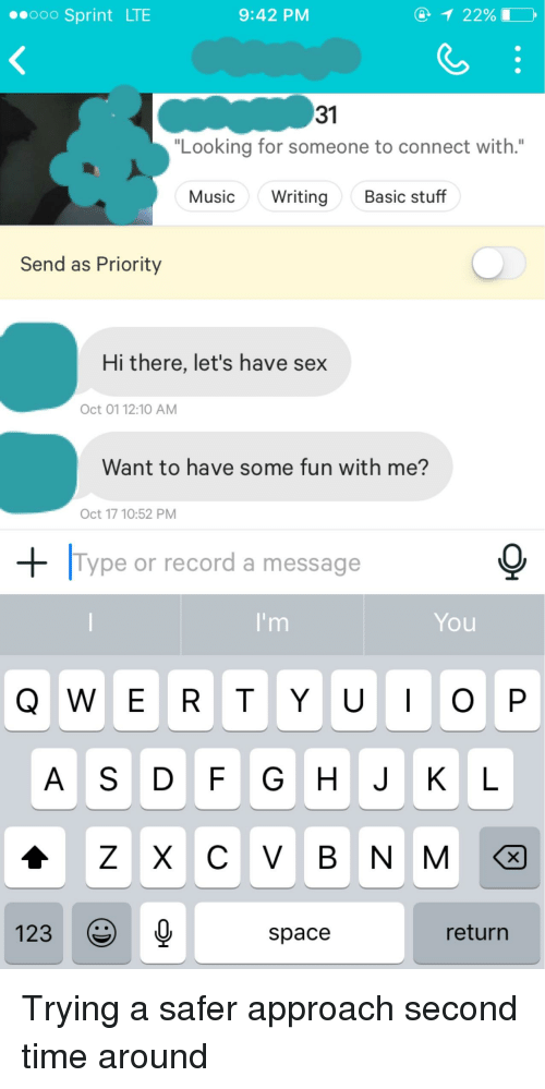 Looking for someone to have sex