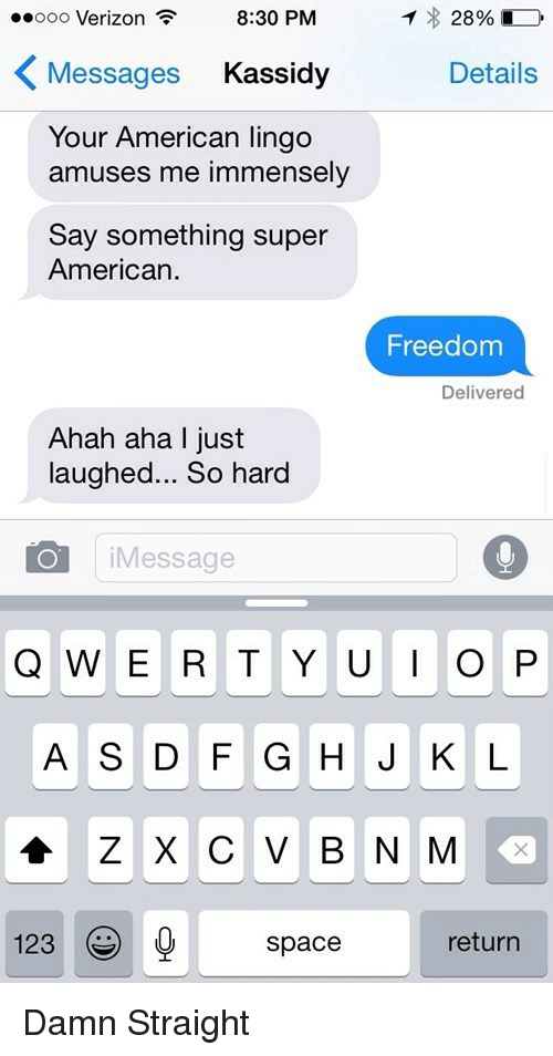 Ooo Verizon 830 PM Messages Kassidy Details Your American