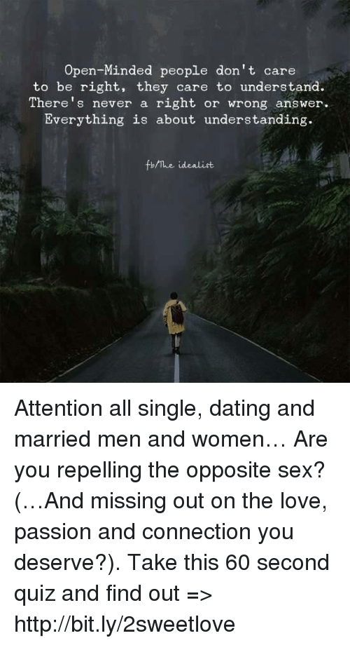 Minded open sex single