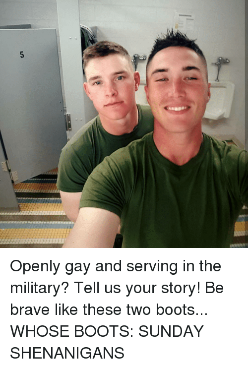 from Jabari gays openly military
