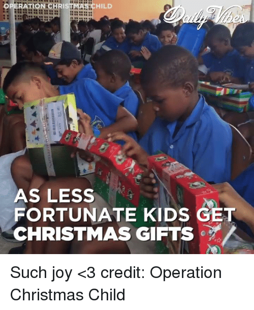 memes joyful and operation chris hild as less fortunate kids get christmas