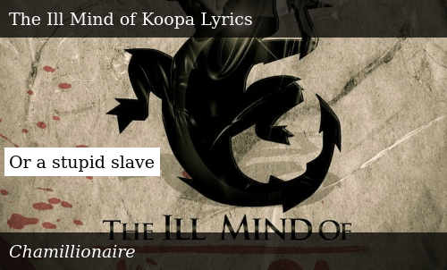 chamillionaire the ill mind of koopa