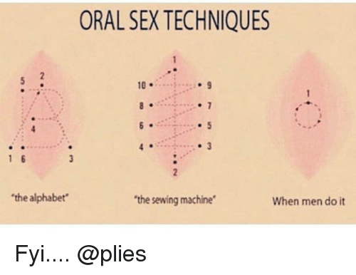 Oral sex tip sheet