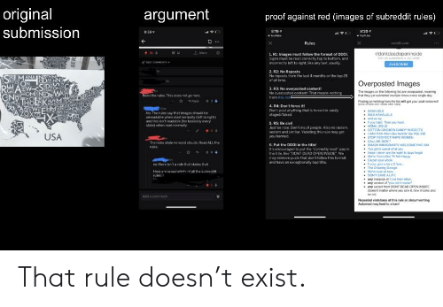 Original Submission Argument Proof Against Red Images of