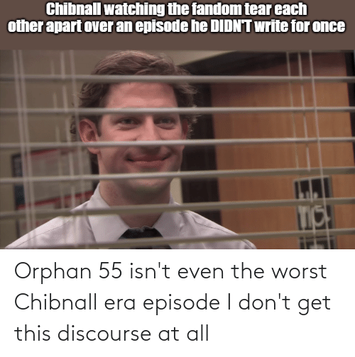 The Worst, Doctor Who, and Orphan: Orphan 55 isn't even the worst Chibnall era episode I don't get this discourse at all