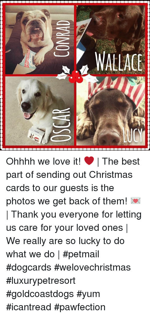 OSCAR CONRAD Ohhhh We Love It! ❤ | the Best Part of Sending Out ...