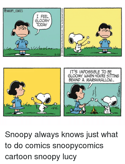 osnoopy comics i feel gloom today its impossible to be gloomy 27172980 ✅ 25 best memes about gloomy gloomy memes